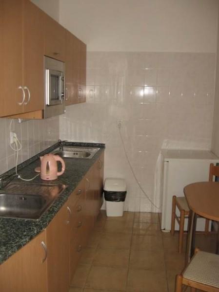 Vnitřní prostory - společná kuchyňka v patře