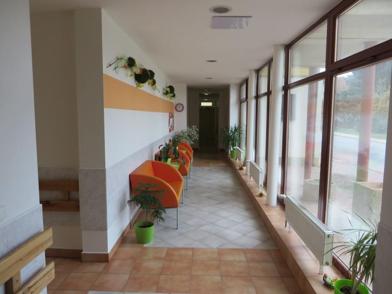 Vnitřní prostory - vstupní hala