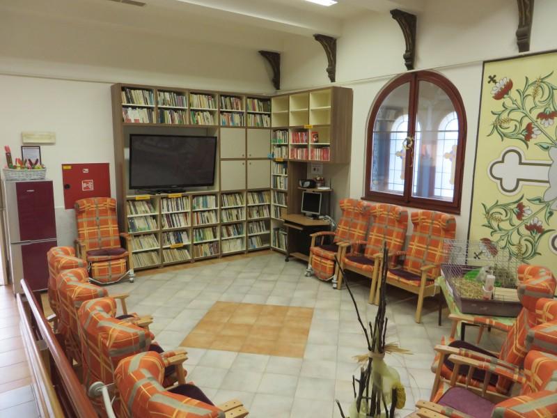 Vnitřní prostory - společenská místnost